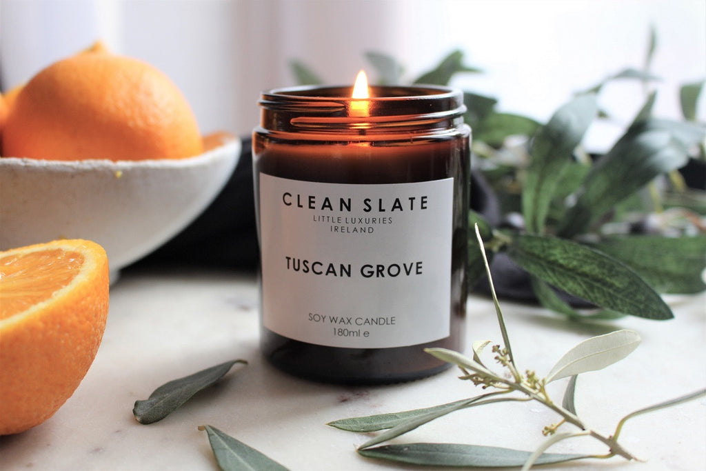 Clean Slate Scented Candle Tuscan Grove