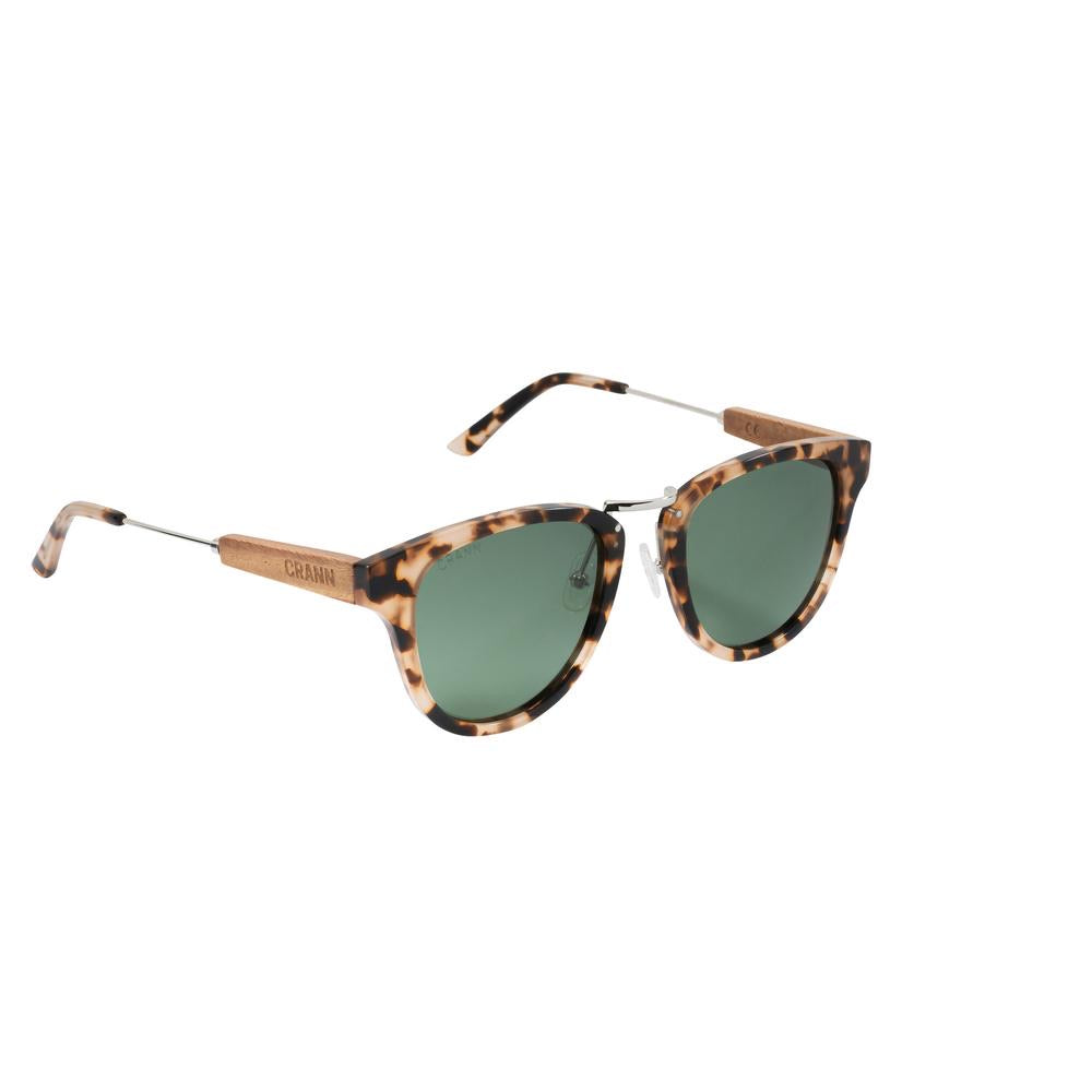 Crann Recycled Sunglasses Fanore - Grey Turtle