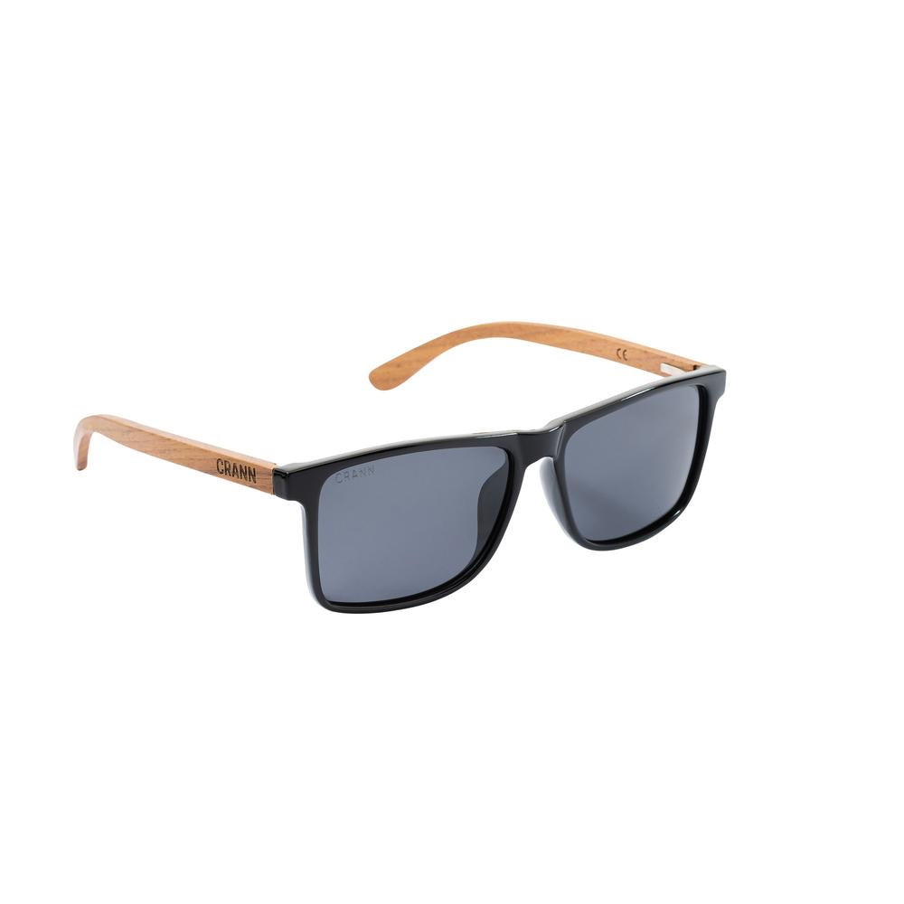 Crann Recycled Sunglasses Sandycove - Black