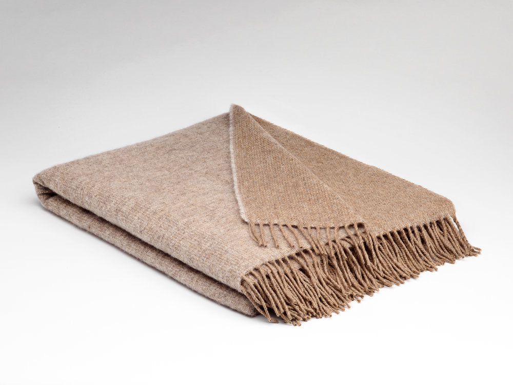 McNutt Irish Wool Blanket Shifting Sands