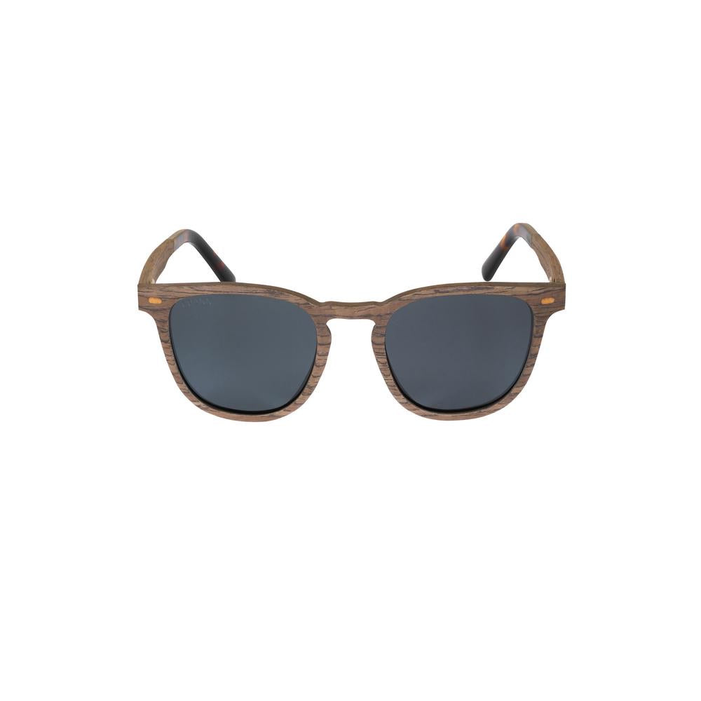 Crann Recycled Sunglasses Banna - Walnut