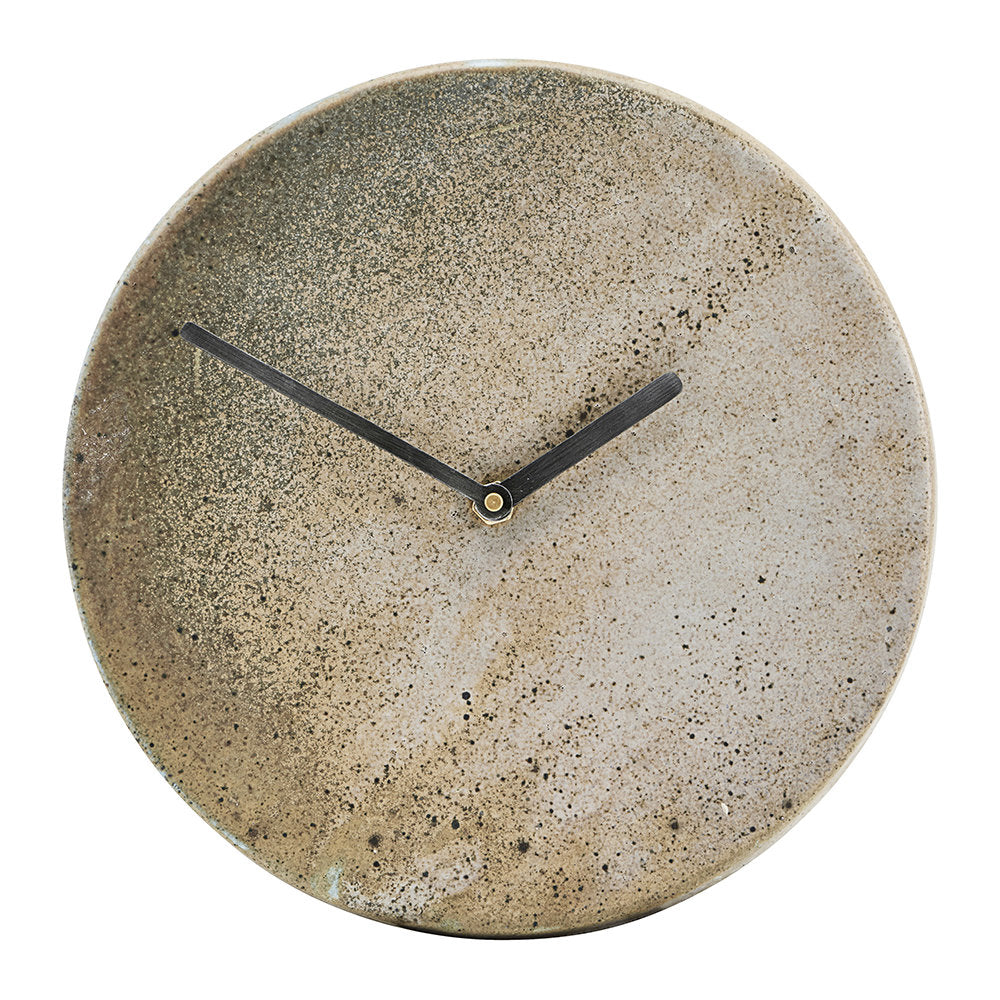 Metro Brown Wall Clock