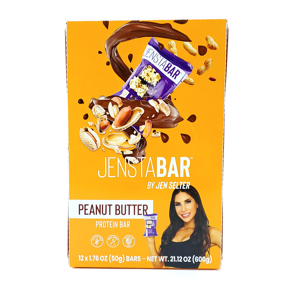 Peanut Butter Jenstabars<br><span class='productTitleQuant'>2 Boxes of 12</span>