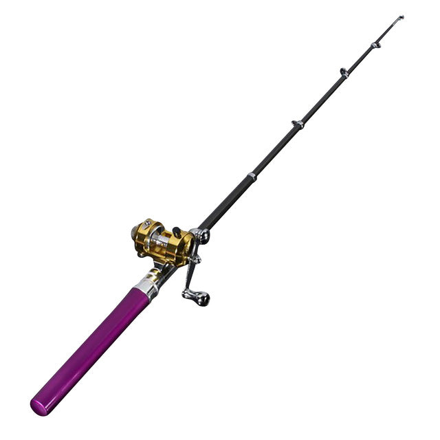 Telescopic Fishing Tackle Rod