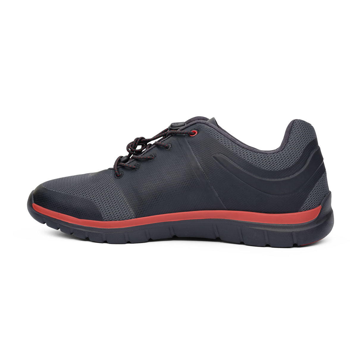 Anodyne Men's No. 22 Sport Runner (Black Red)