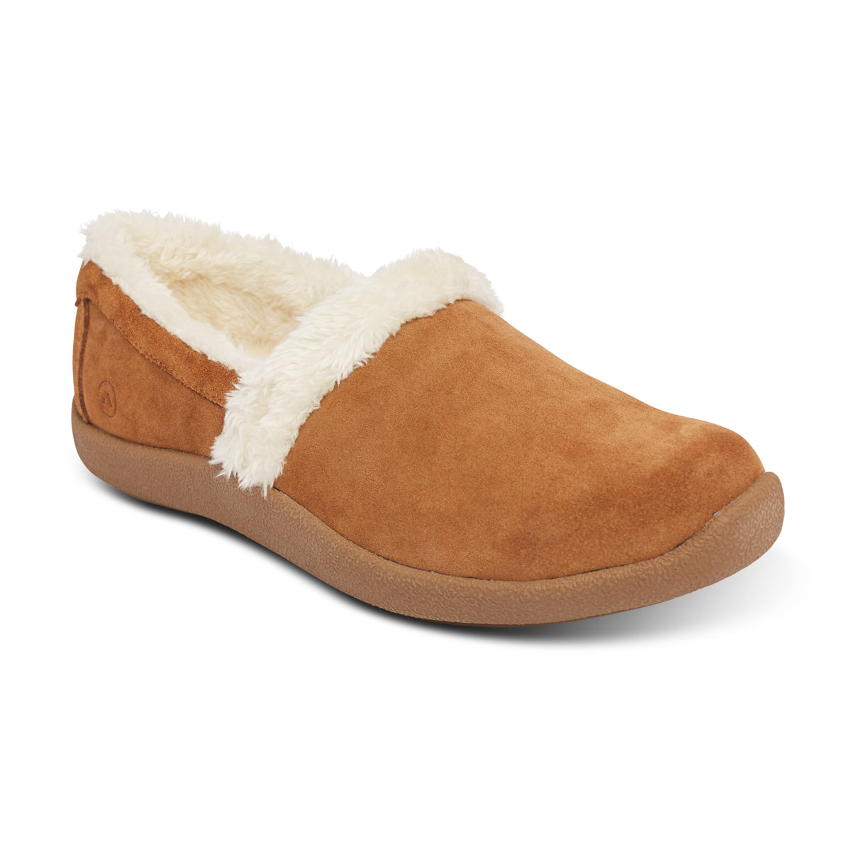 Anodyne Women's No. 21 Slipper Smooth Toe (camel)
