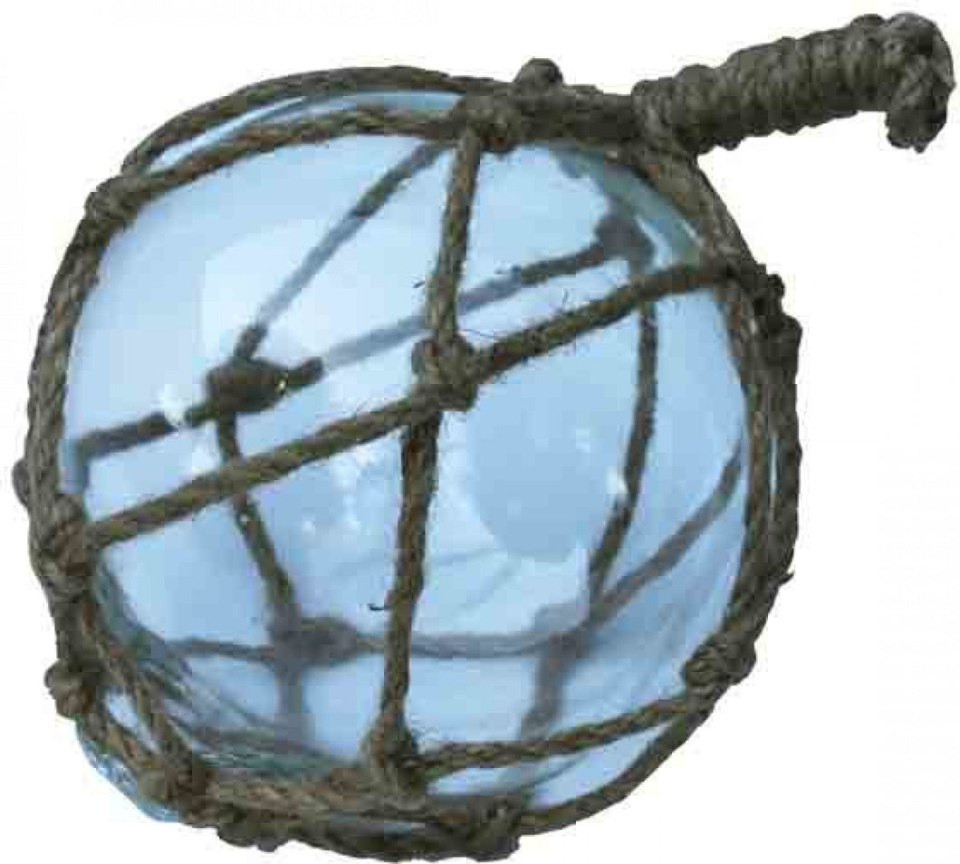 Hanging Glass Ball in Rope
