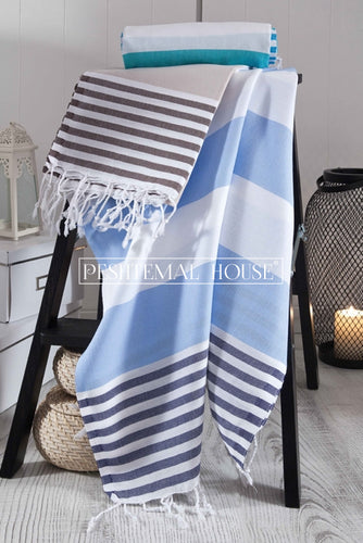Sailor Stripe - Ice Blue