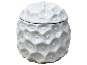 Sea Sponge Ceramic Canister