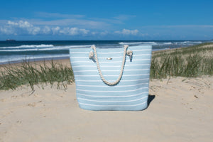 Whitehaven Powder Blue Beach Bag - only one left!