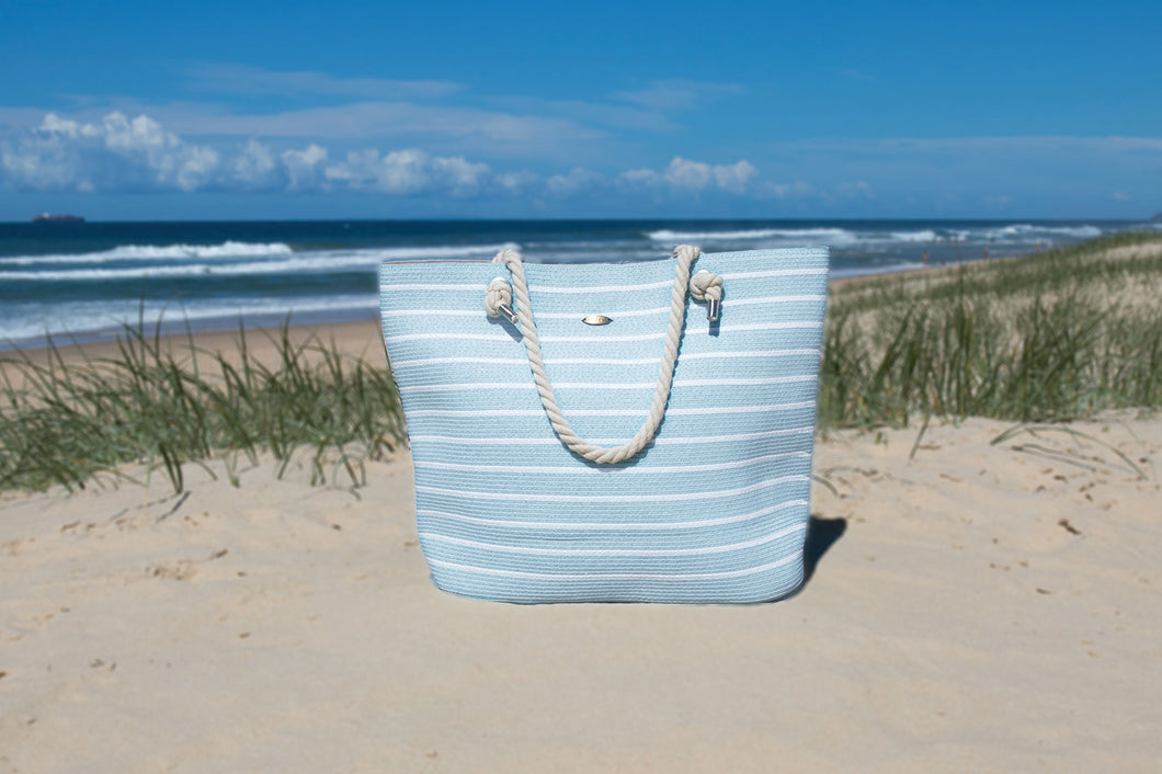 Whitehaven Powder Blue Beach Bag