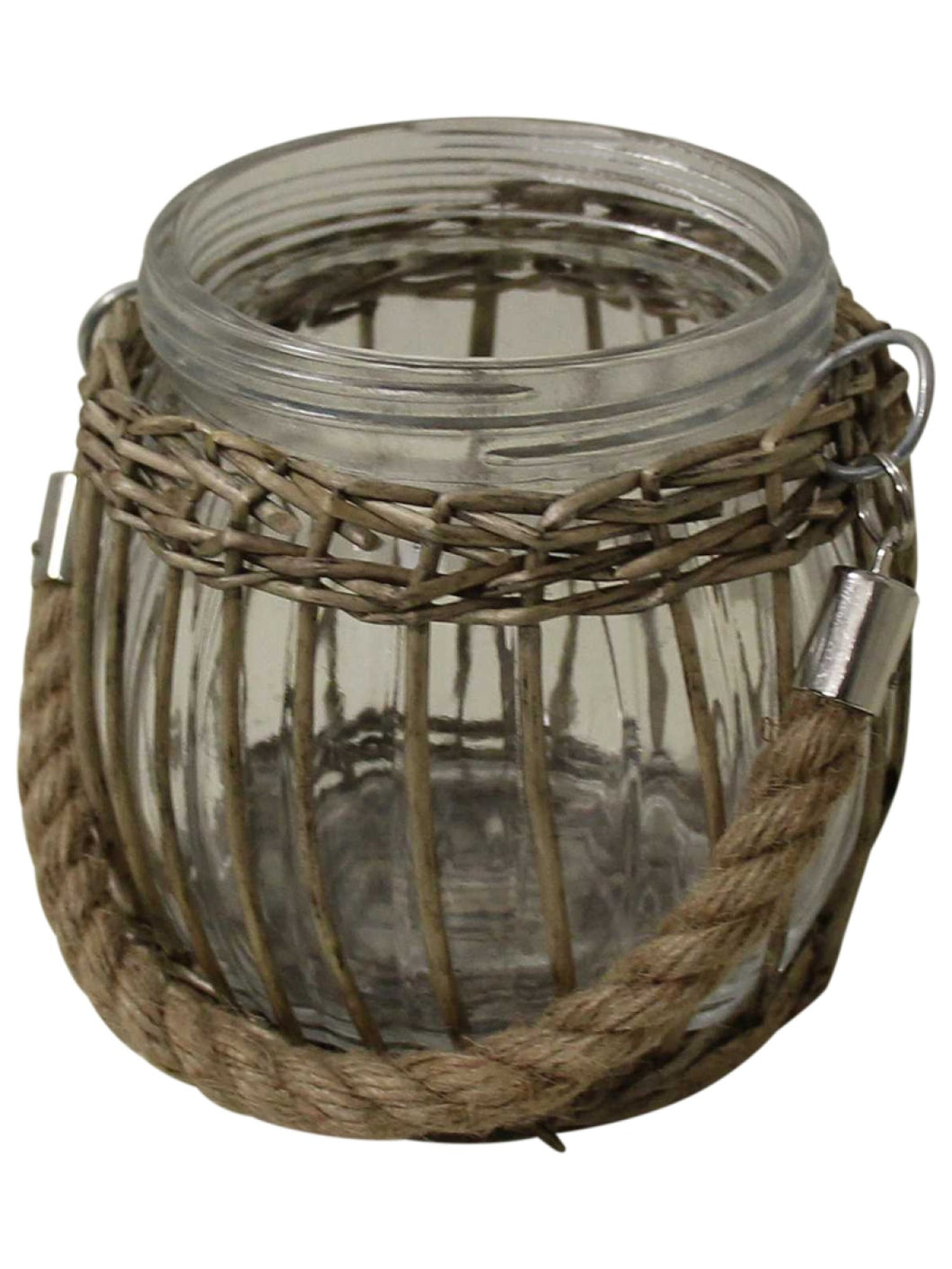 Basket Weave Lantern/Candle Holder