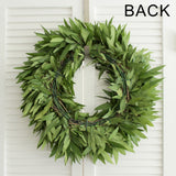 Fresh Handmade Bay Leaf Wreath