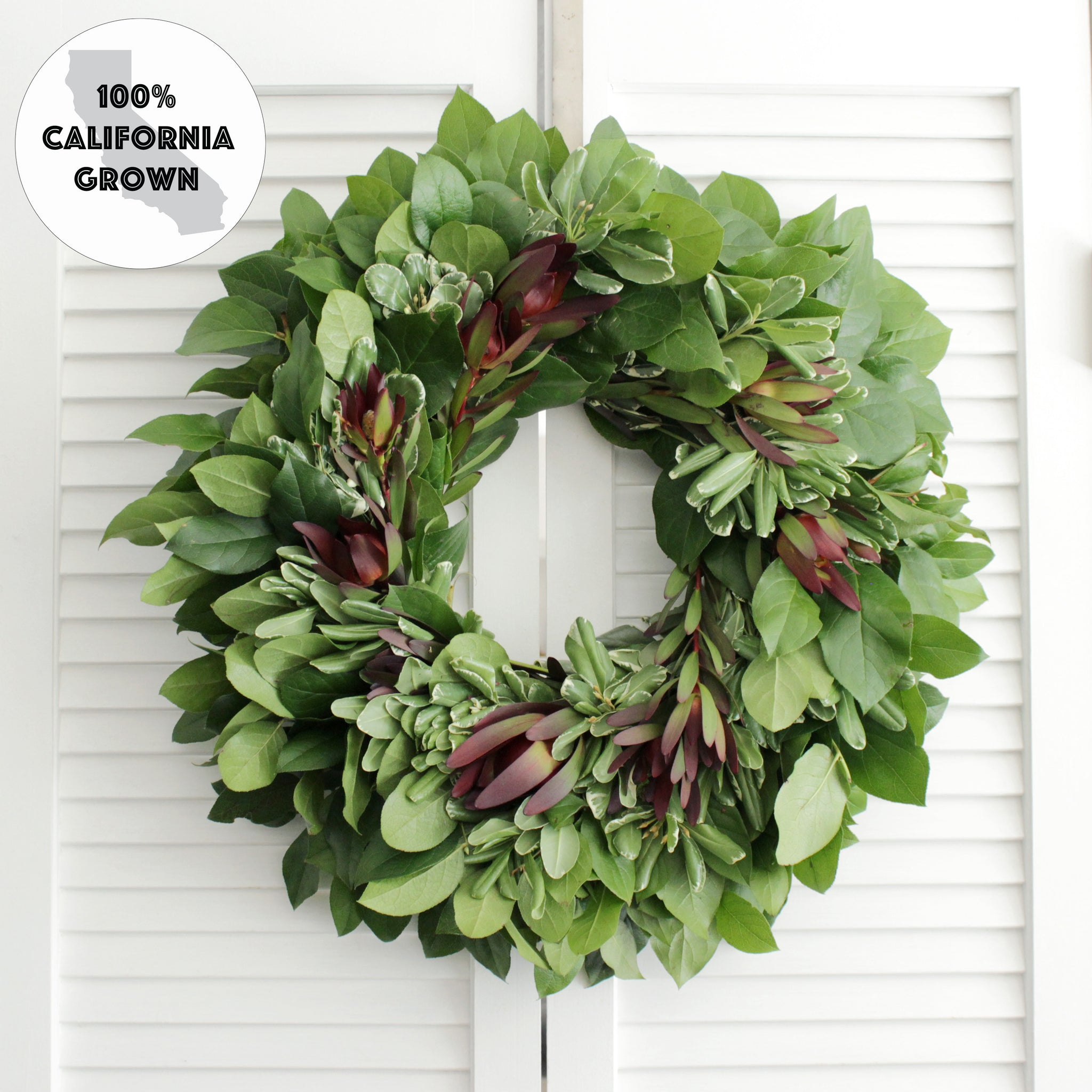 Fresh Handmade Green Lover Wreath