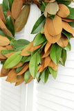 Fresh Handmade Magnolia Wreath