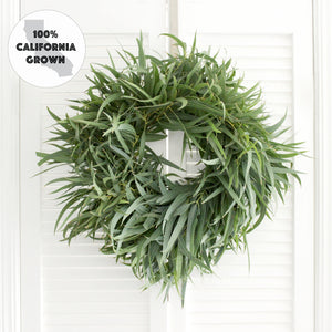 Fresh Handmade Willow Eucalyptus Wreath