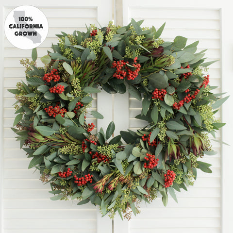 Fresh Handmade Premium Winter Wreath