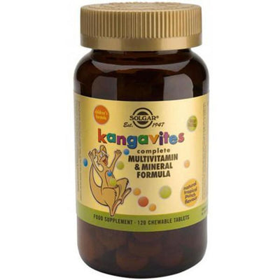 Solgar Kangavites Multivitamin and Mineral Formula 120 Tabs-Physical Product-Solgar-Tropical-Supplements.co.nz