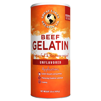 Great Lakes Gelatin Unflavoured Beef Hide Gelatin 454g
