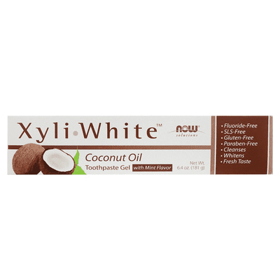 Now Foods XyliWhite Toothpaste Gel 181g