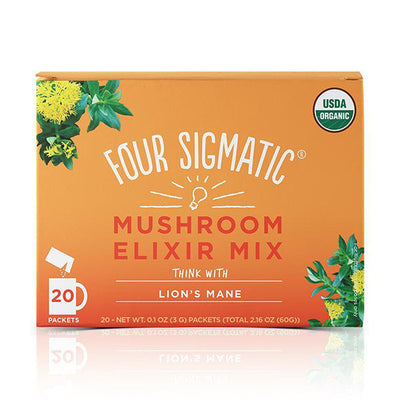 Four Sigmatic Lion's Mane Elixir 20 Packets