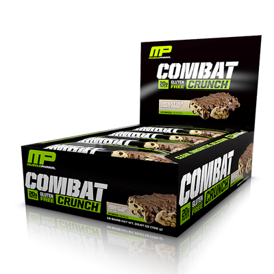 MusclePharm Combat Crunch Bar 12 x 63g