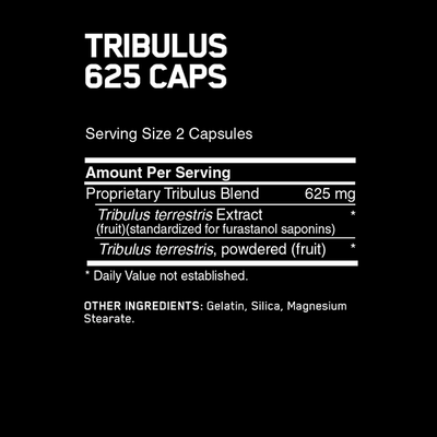 Optimum Nutrition Tribulus 625mg 100 Caps - Supplements.co.nz