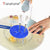 Practical Eggs Mixer Anti-splash Lid Eggd Bowl Anti-Splatter Cover Beat Cylinder Splash Guard Cooking Tools Kitchen Accessories