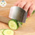 1PCS Kitchen Tools Cut Vegetables Cut Hand Gauntlets Stainless Steel Protector Finger Guards Protective Gloves Finger Guards LYQ