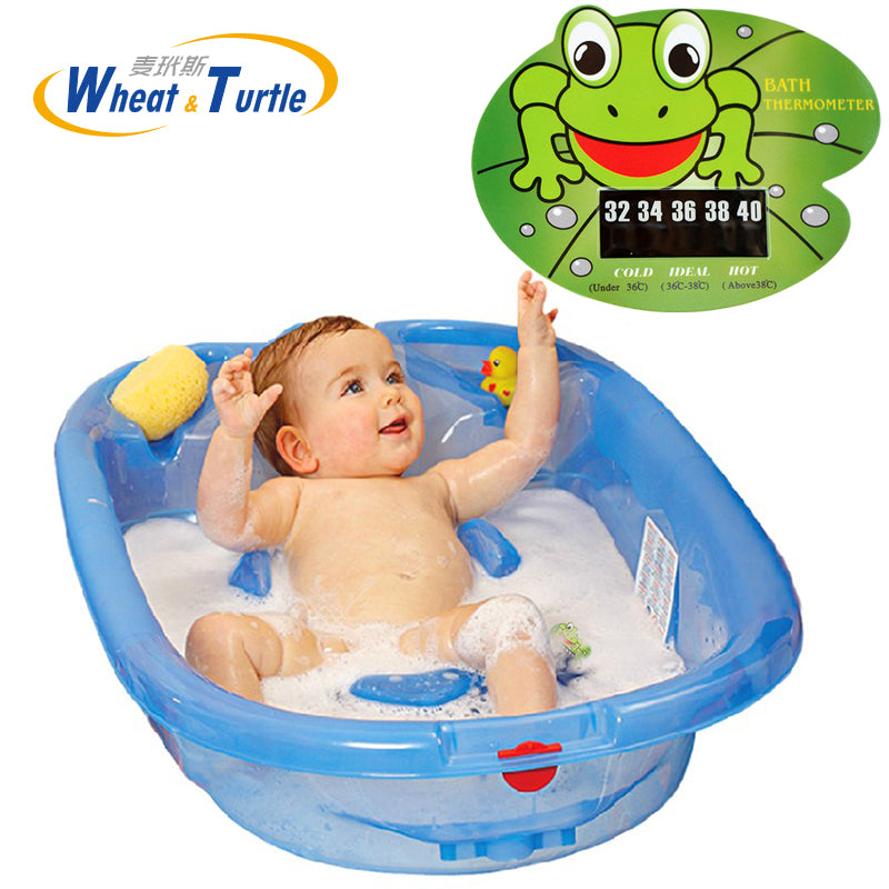 2017 New Cartoon LCD Infant Bath Water Temperature Thermometer Baby ...