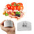 1PC Practical & Durable Finger Hand Protector Guard Shield Stainless Steel Chop Slice Shield Cook Tool Kitchen Accessories