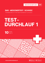 "Lade das Bild in den Galerie-Viewer, Trainingsbuch EMS NC Simulation ""Testlauf 1"" - MEDISEMINAR"