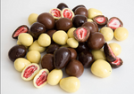 White Chocolate Coated Freeze Dried Strawberries