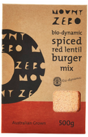 Spiced Red Lentil Burger Mix by Mount Zero