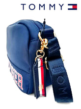 TOMMY HILFIGER  Cross Bag - Morral Sport Azul y Rojo