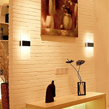LAMPARA LED DE PARED RECTANGULAR