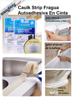 Caulk Strip Fragua Autoadhesiva En Cinta