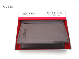 GUESS  BILLETERA  DE TRES CUERPOS RFID PROTECTION