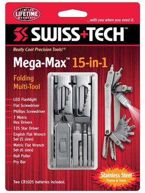 MEGA MAX - SWISS TECH 15 en 1