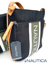 NAUTICA CROSSBAG Montauk Black Bone