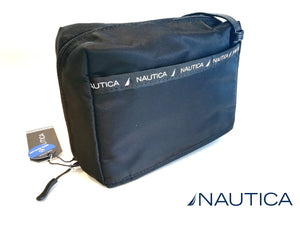 NAUTICA MINI CROSSBAG 2 en 1 nylon total black