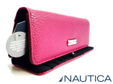NAUTICA BILLETERA FUCSIA mujer The Perfect Carry-All Money Manager con RFID