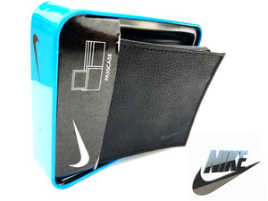 NIKE Billetera de Cuero Genuino Nike Golf