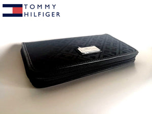 Tommy Hilfiger Womens Core Wallets Zip Around Signature