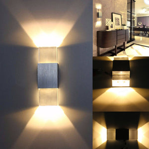 LAMPARA LED DE PARED 6w