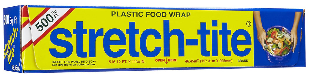 FILM ADHERENTE PARA CONSERVAR ALIMENTOS marca STRETCH TITE Made in USA