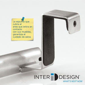 Toallero Curvo en Acero Inoxidable Inter Design