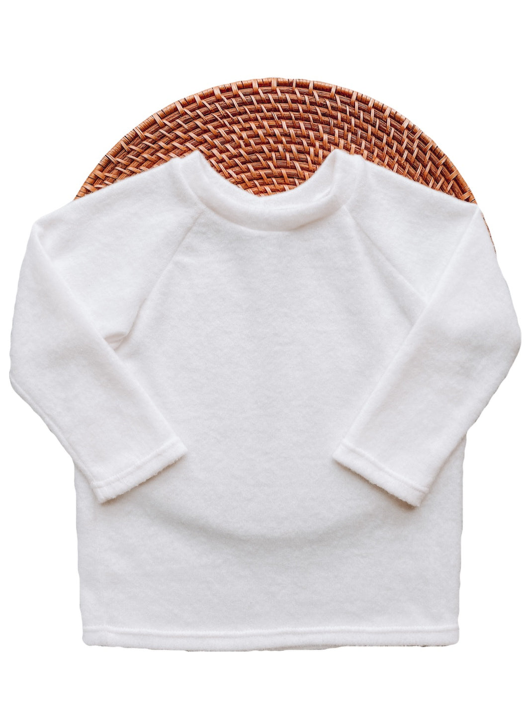 The Raglan Sweater -Soft White