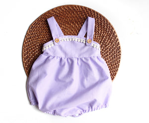 The Esther Romper - Lavender