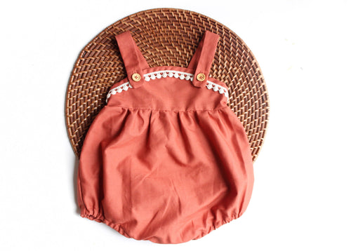 The Esther Romper - Rust